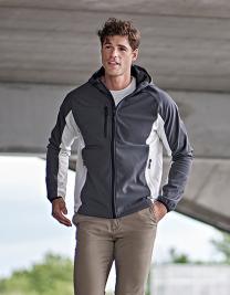 Hooded Lightweight Performance Softshell Jacket
